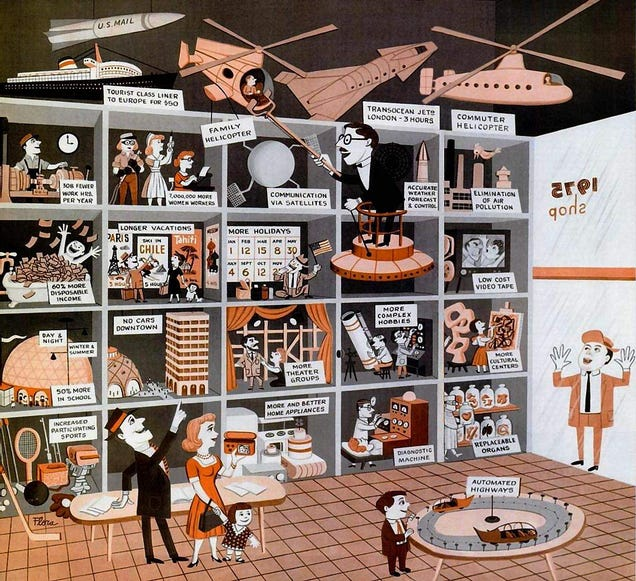 This Cartoon Perfectly Sums Up the Optimism of 1950s Futurism