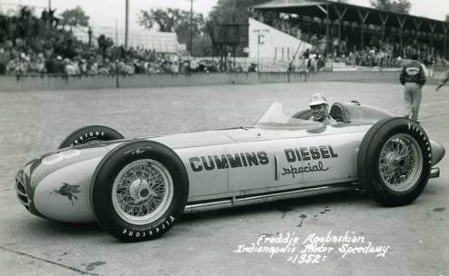 Pictures of Entire 1952 Indianapolis 500 Starting Grid Found