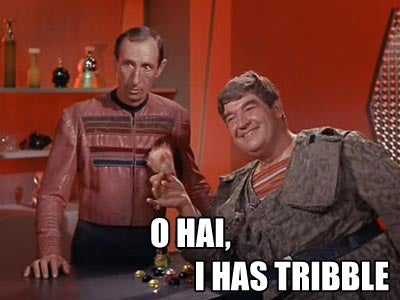 Get Into Tribble-Related Trouble