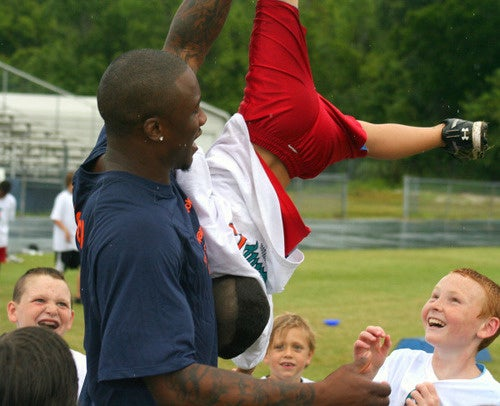 Brandon Marshall Won't Take Your Guff, Small Child