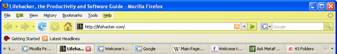 Geek to Live: Consolidate Firefox's chrome