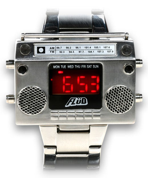 Wonderfully 80s Boombox Wristwatch Doesn't Play Music