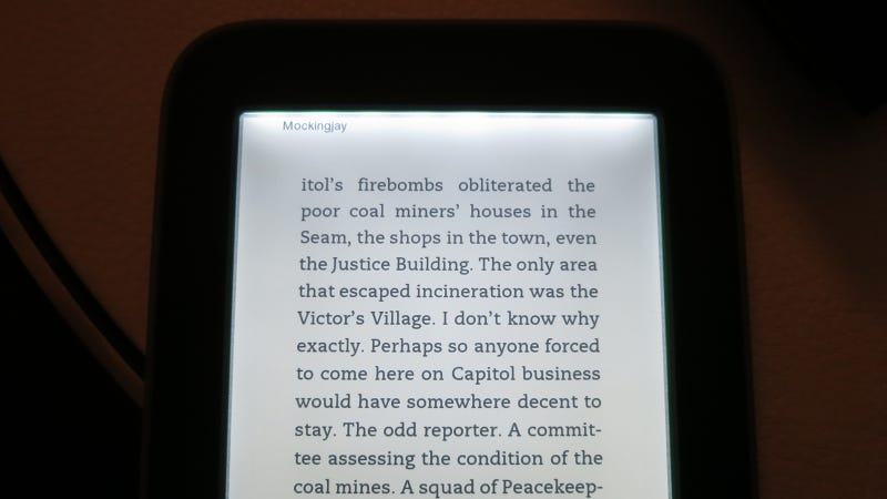 Nook Simple Touch with GlowLight Hands On: Never Read a Book on a Tablet Again