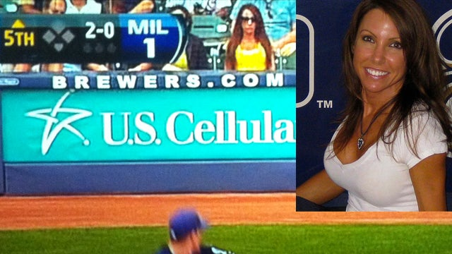 "Found: Brewers Girl Is ""Front-Row"" Amy Williams, And She's Enjoying Getting To Know Deadspin's Readers"