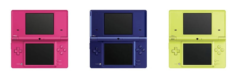 A Closer Look At The New DSi Colors