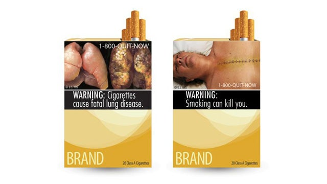 Big Tobacco Sues FDA Over Ghastly Warning Photos