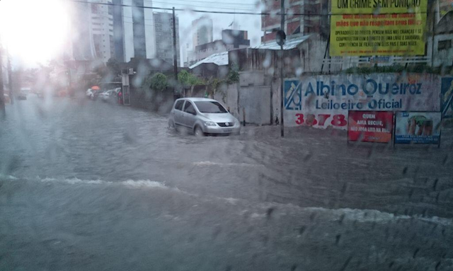 The Brazilian City Where The U.S. Is Playing Germany Has Flooded