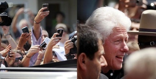 BREAKING: Bill Clinton Is At His Own Daughter's Wedding
