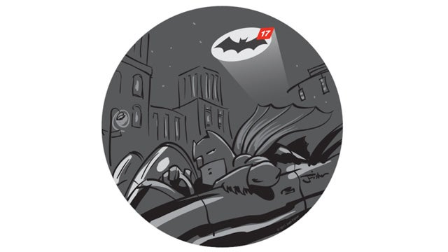 I Bet Batman Really Hates Notification Badges Too