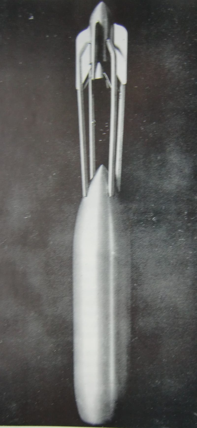 Did the Germans launch a crewed rocket into space in 1933?