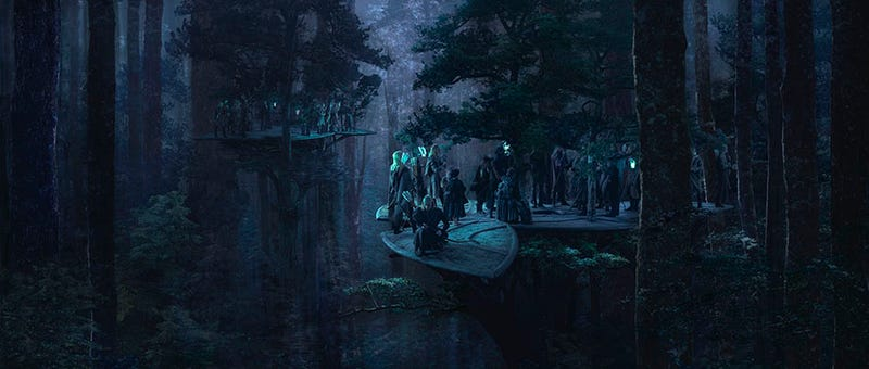The Gorgeous Matte Paintings that Made Lord of the Rings and Fifth Element Feel Real