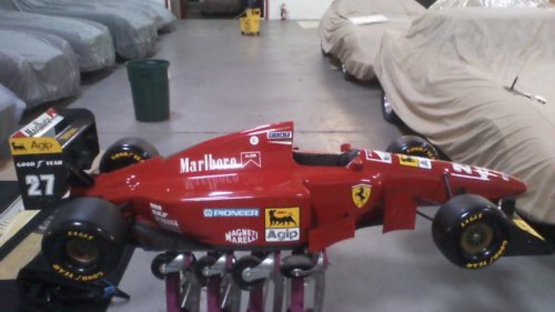 You Can Own An Actual Ferrari F1 Test Car For Just $24,999!