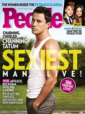 Sexiest Man Alive, Channing Tatum, Is People's Sexiest Man Alive