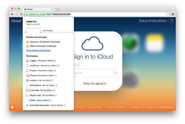 How to Make Sure You're Visiting the Real iCloud Page