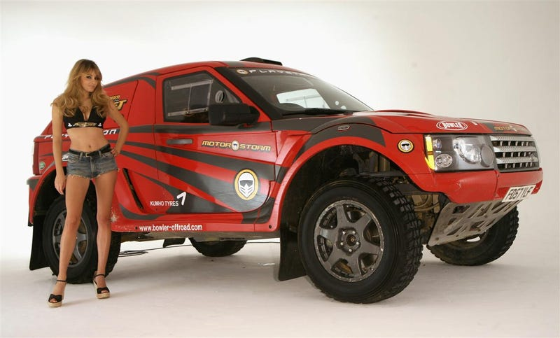 Keely Somebody Pitches For Motor Storms Pacific Rift With Dakar Land Rover Nemesis