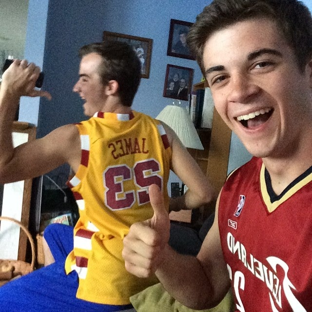 Here Are Cavs Fans Who Didn't Burn Or Throw Away Their LeBron Jerseys