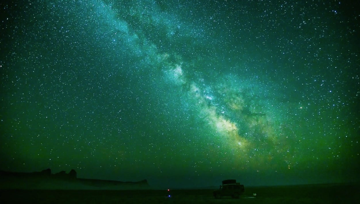 Stunning Landscapes and Starscapes in Kazakhstan