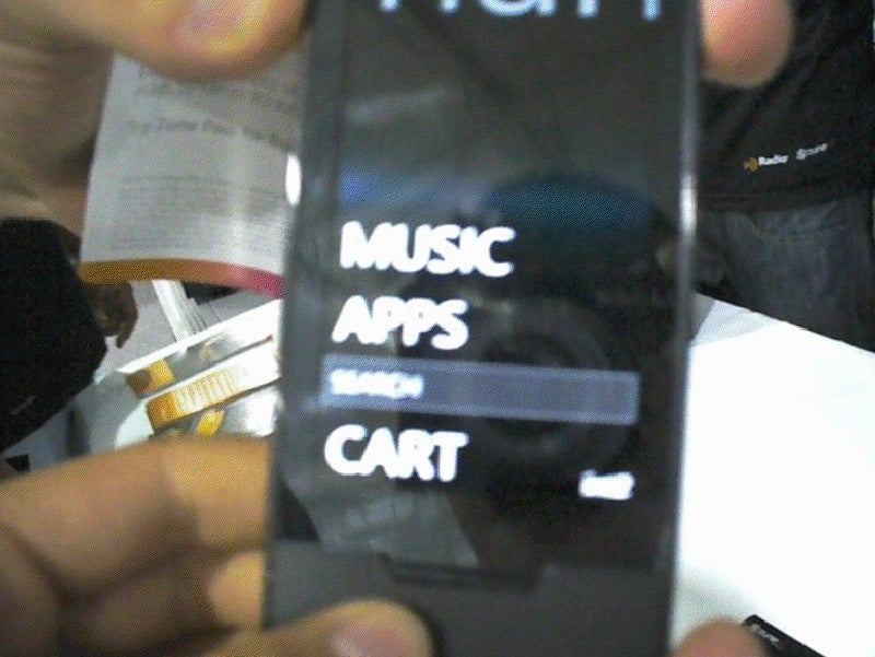 Zune HD Teases Inaccessible Apps Menu During Weekend Preview