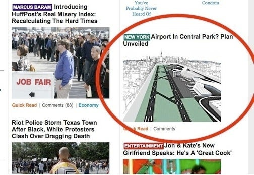 Huffington Post Serves up Hoax on Front Page