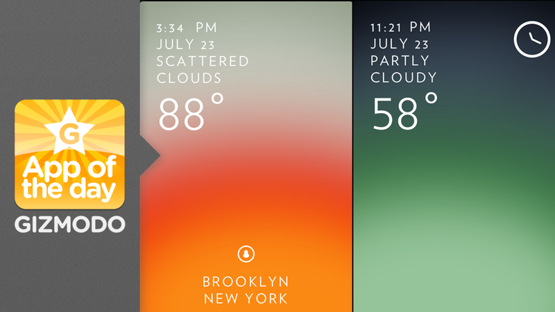 Solar: A More Beautiful and Intuitive Way to Check the Weather