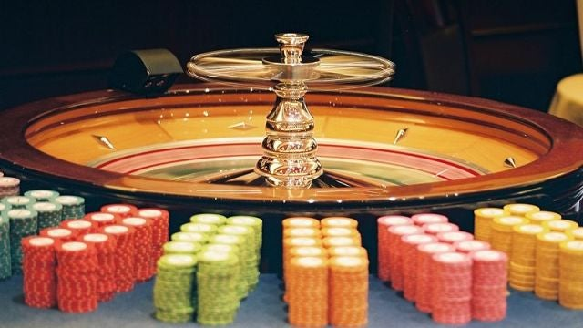 Casinos link your movement with the roulette wheel's to catch cheats
