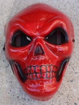 Man in a Red Skull mask robs a bank, is foiled by Jewish vigilantes