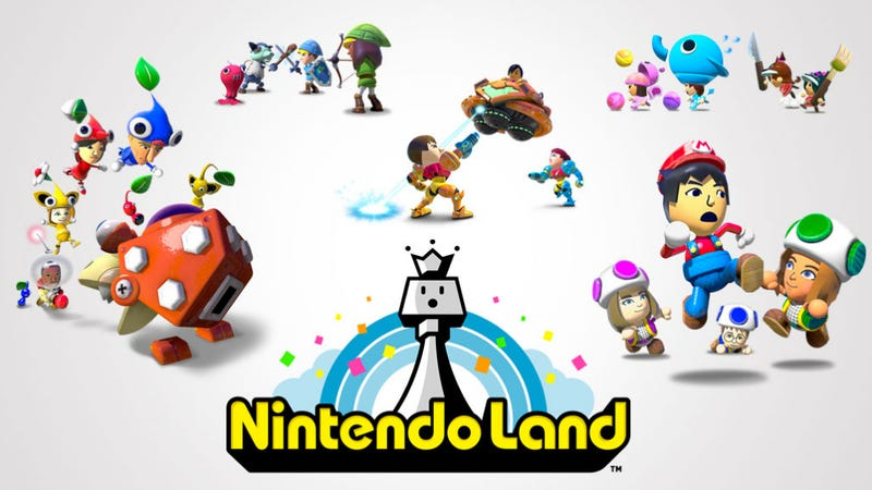 F-Zero and Yoshi Return (Sort Of) in the Wii U's Nintendo Land