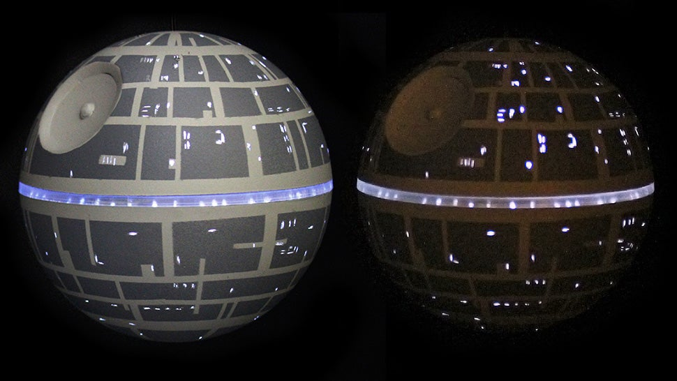 death star ornament that 39 s no moon ornament. Black Bedroom Furniture Sets. Home Design Ideas