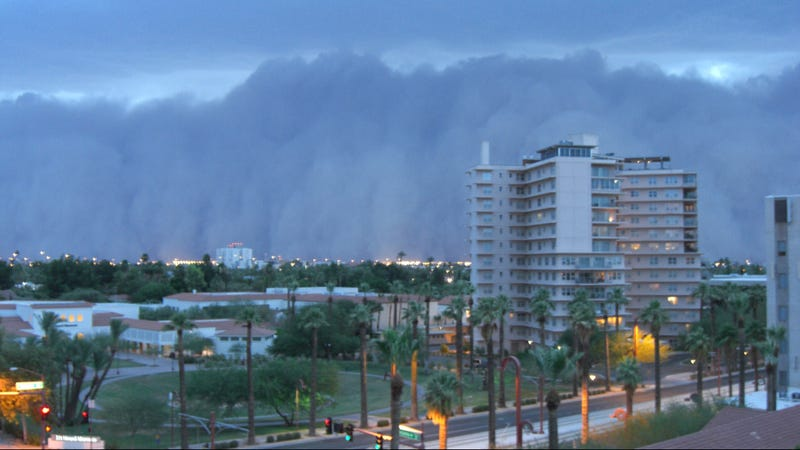 Why Not Drive Directly Into an Apocalyptic Dust Storm?