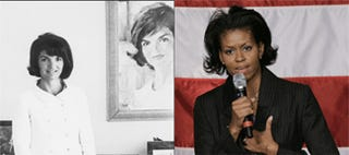 Michelle And Jackie O: Twins Separated At Birth?
