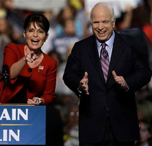 McCain (Palin) On Women's Issues: When It's Not Sparse, It's Not Good