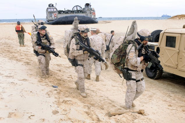 Exercise Bold Alligator Kicks Off With Marines Taking On The Unknown