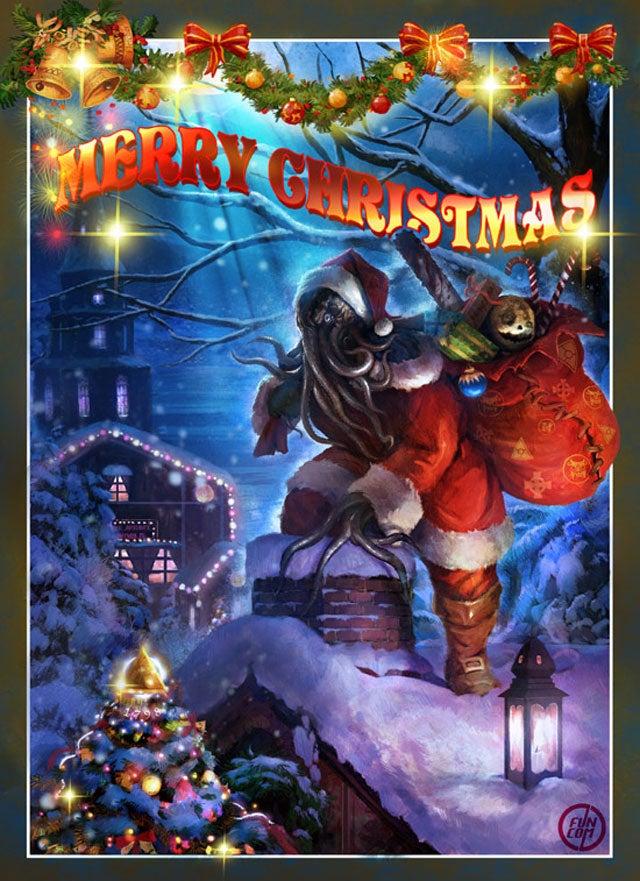 Funcom Wishes You A Merry Cthulhu