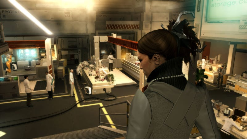 First Hands-on With Deus Ex: Human Revolution Teaches Us To Walk, Then Fly