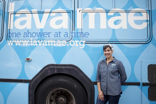 A Refurbished Bus Will Bring Showers to the Homeless in San Francisco