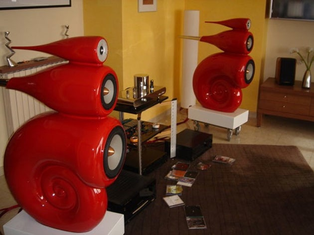 Building a Pair of Knock-Off B&W Nautilus Speakers