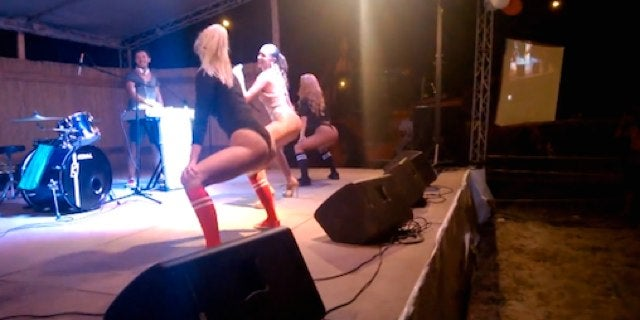 The Audience Wasn't Really Feeling This Twerk Contest, For Some Reason