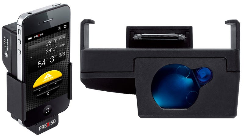 This Clunky iPhone Accessory Measures Distances With Laser Accuracy