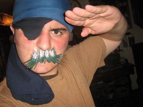 Metal Gear Mustache Maniacs!