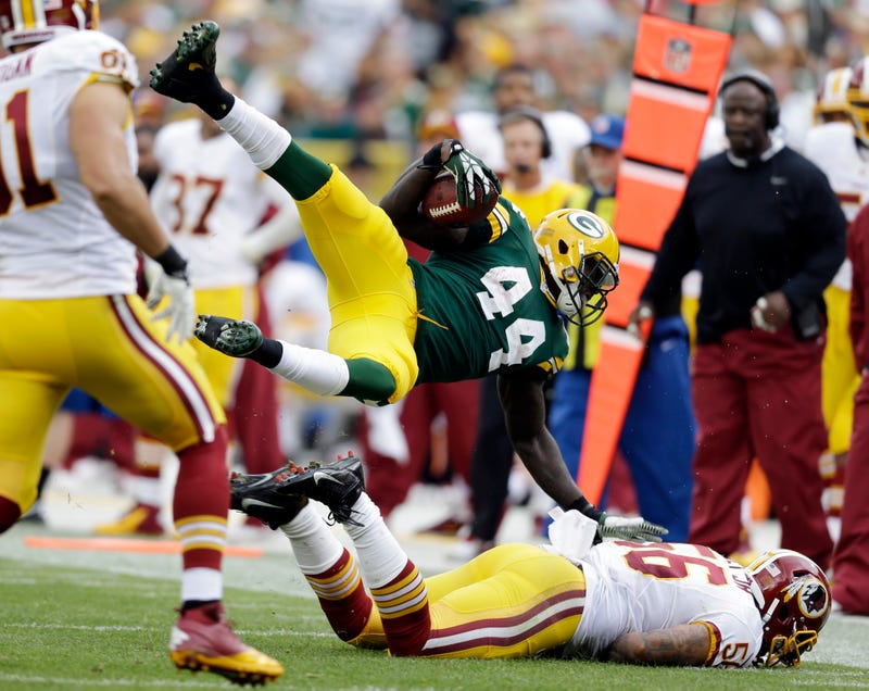 A Packers RB Finally Had A 100-Yard Day