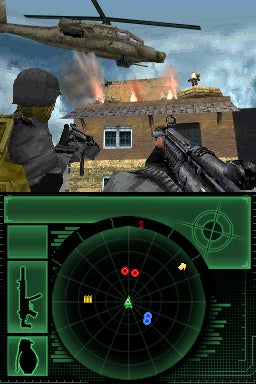 Modern Warfare Mobility DS: Guns, Tanks and Planes
