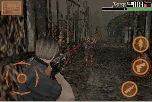 Oh Yeah, Resident Evil 4 iPhone Now Available