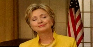 A GIF Guide: Why Hillary Clinton is More Beloved than Joe Biden