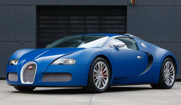Kid Ticketed For 50 Over In Dad's Bugatti Veyron