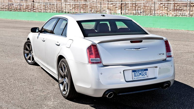 2012 Chrysler 300C SRT8: Photos