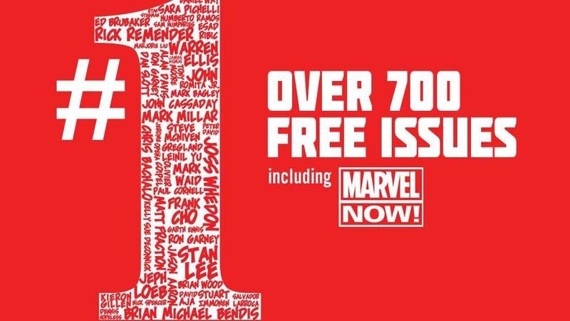 You Can Download 700 Free Marvel Comics Right Now [UPDATE: Offer postponed]