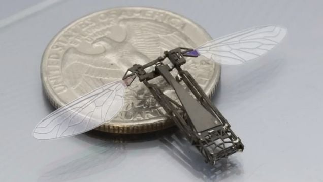 Millions of these robotic bees may roam the world in the near future