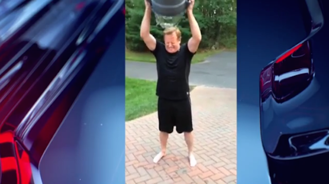 Roger Goodell Dumps Ice Water On Head For ALS Awareness, Is Clueless
