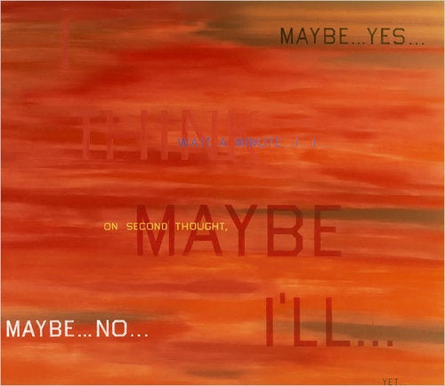 Barack Obama's Decision-Making Process In Painting Form