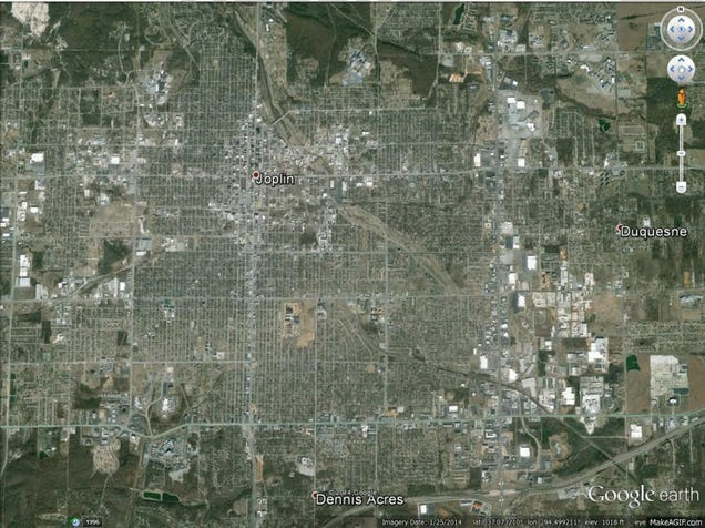 Breathtaking Satellite Images Show Tornado Scars Left on the Earth